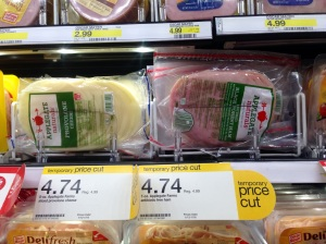 Recently got this ham and cheese for $2.42 each after coupon, cartwheel, and Target red card.